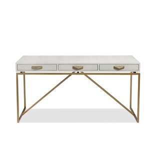 Atherton Shagreen Console Table by Interlude