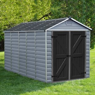 6 Ft. W X 12 Ft. D Apex Plastic Shed By WFX Utility