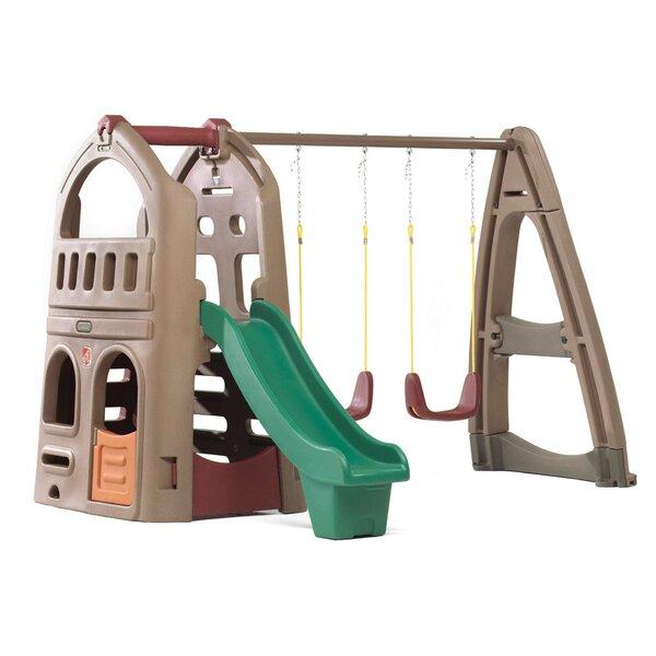 Plastic Swing Sets You\'ll Love | Wayfair