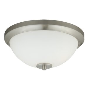 Listermann 1-Light Flush Mount