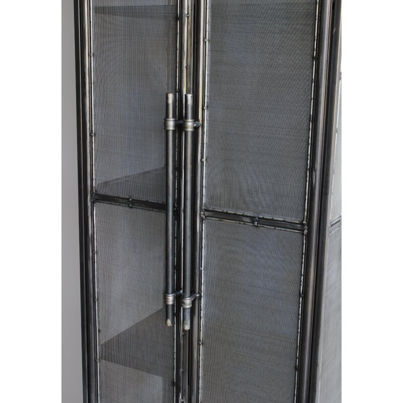 Lindauer Tall Metal 2 Door Accent Cabinet
