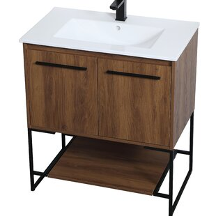Lansford 30 Single Bathroom Vanity Set