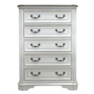 August Grove Pia 5 Drawer Chest