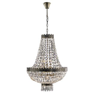 Rosdorf Park Brimstone 1 Tier 6-Light Empire Chandelier