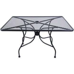 Metal Dining Table by H&D Restaurant Supp..