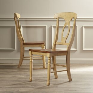 Three Posts Courtdale Solid Wood Dining Chair (Set of 2)