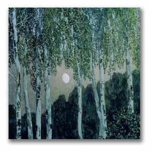 Birch Trees By Aleksandr Golovin Painting Print On Canvas