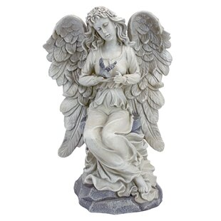 Nature's Blessing Angel Garden Statue Image