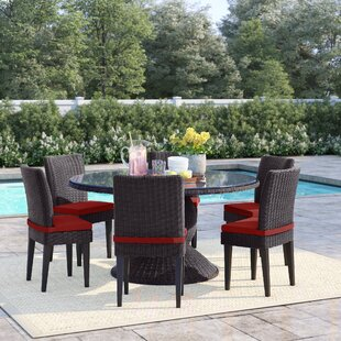 Fairfield 7 Piece Dining Set with Cushions