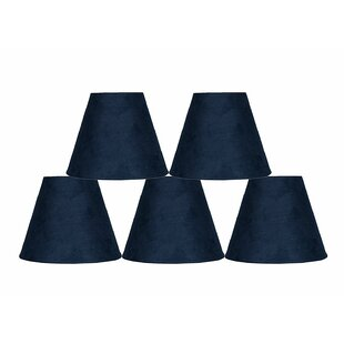 6 Suede Empire Lamp Shade (Set of 5)