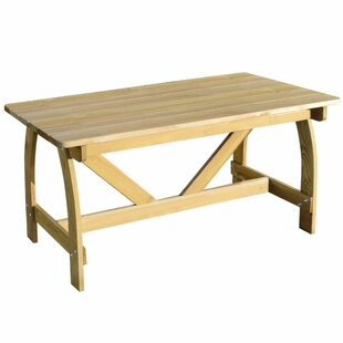 Wooden Dining Table By Sol 72 Outdoor