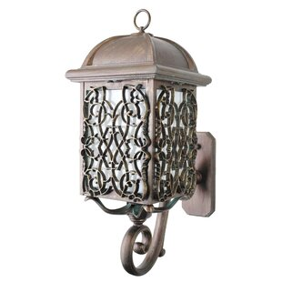 Bargain Penfield 1-Light Outdoor Sconce By Alcott Hill