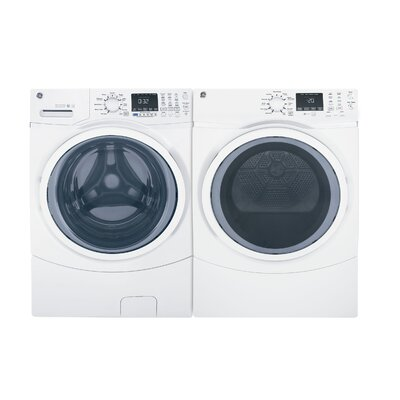 GE 4.5 Cu. Ft. Front Load Washer and 7.5 Cu. Ft. Electric Dryer GE Appliances