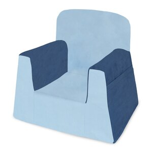 Little Reader Kids Foam Chair with Storage Compartment by P'kolino