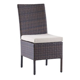 Brookhaven Patio Dining Chair With Cushion by Birch Lane™ Heritage Bargain