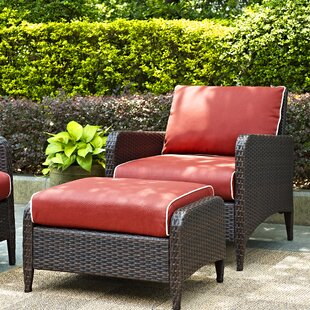 Mosca 2 Piece Deep Seating Group with Cushion