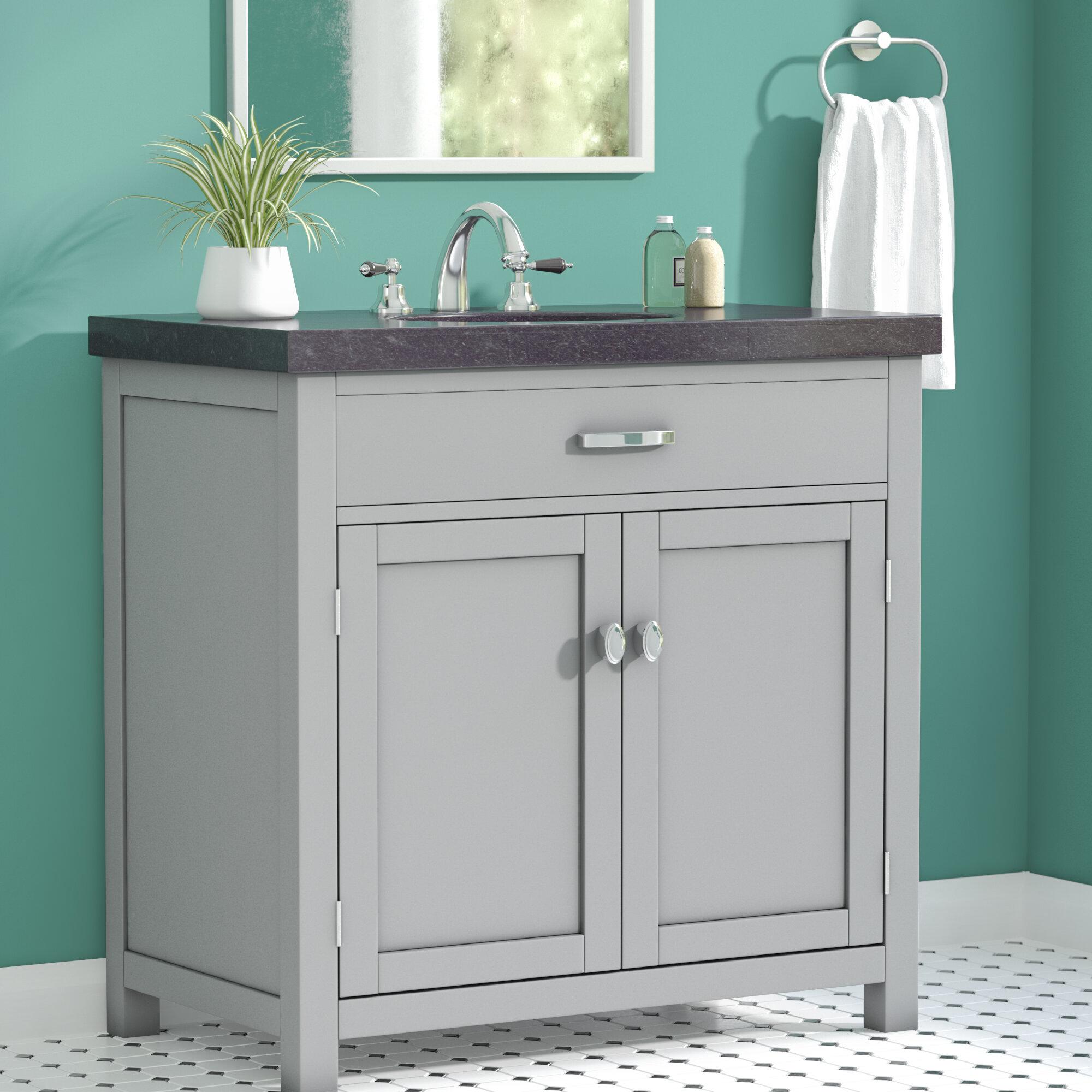 Zipcode Design Marielle 35 Single Bathroom Vanity Set Reviews Wayfair