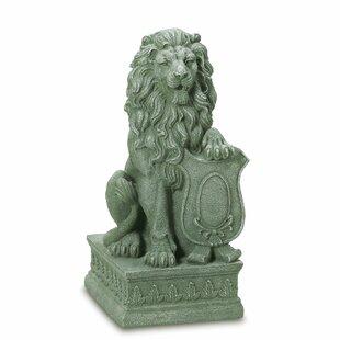 Regal Lion Garden Statue