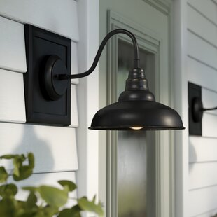 Mains Outdoor Barn Light by Gracie Oaks Amazing