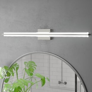 The 8 Best Places To Shop Ivy Bronx Wyndham 1 Light Dimmable Led Bath Bar
