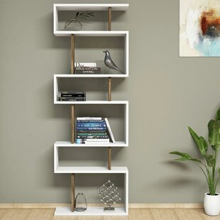 Gebhardt Modern Geometric Bookcase by Ebern Designs