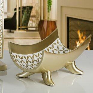 Diamond Lattice Centerpiece Decorative Bowl