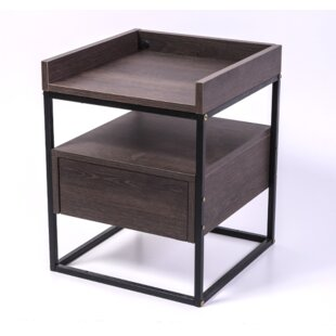 Jaylan 1 Drawer Nightstand