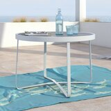 Mirabelle Glass Side Table