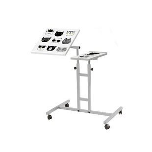 Aillie Laptop Height Adjustable Standing Desk By 17 Stories