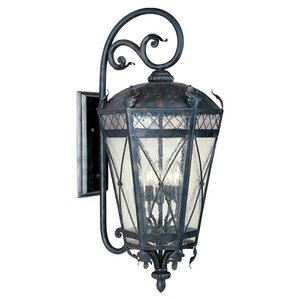 Ivers 3-Light Outdoor Wall Lantern