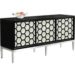 Popular Choice For Everly Quinn Robbyn Brass Sideboard Inexpensive Price
