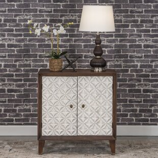 Cloquet 2 Door Accent Cabinet by Bungalow Rose