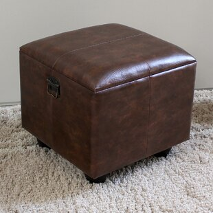 Stone Castle Storage Ottoman by Astoria Grand