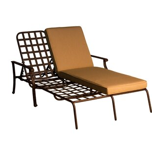 Andrew Double Chaise Lounge with Cushion
