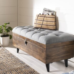 Riva Tufted Cocktail Storage Ottoman by Gracie Oaks