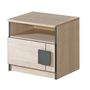 Castro 1 Drawer Bedside Table By Isabelle & Max