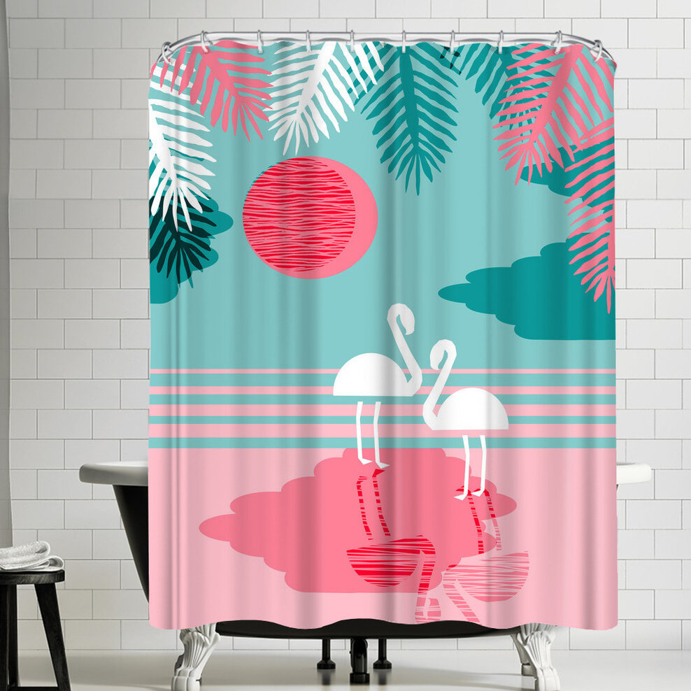 East Urban Home Wacka Designs Chill Vibes Single Shower Curtain Wayfair