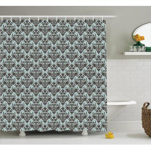Modular Leaves Single Shower Curtain