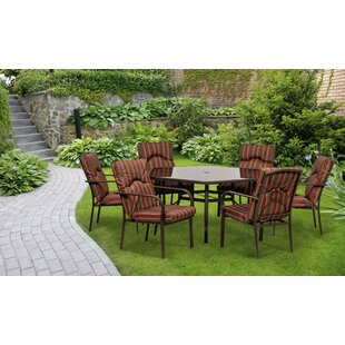6 Seater Dining Set With Cushions By Sol 72 Outdoor