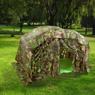 Camouflage Den Kit By Freeport Park