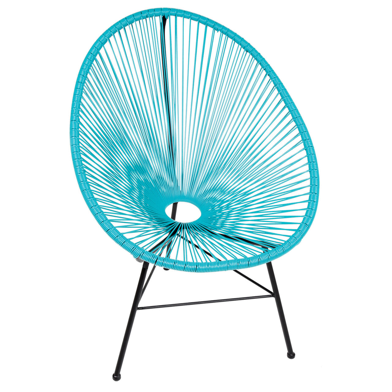 PoliVaz Acapulco Wire Basket Papasan Chair & Reviews | Wayfair