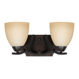 Red Barrel Studio Gorrell 2-Light LED Vanity Light