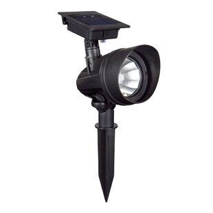 Solar Powered 1-Light LED Spot Light (Set of 6) by Duracell