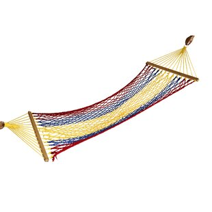 Rainbow Cotton Camping Hammock
