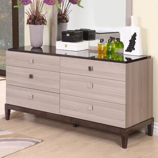 Tucanae 6 Drawer Double Dresser