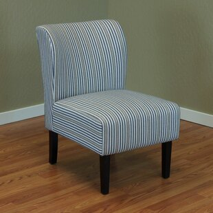 Darby Home Co Moa Stripe Upholstered Side Chair