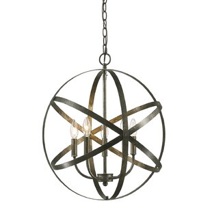 Wrought Studio Della 5-Light Globe Chandelier