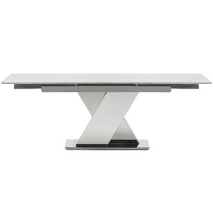 Hyslop Extendable Dining Table by Orren Ellis Reviews