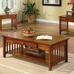 Ruppert 3 Piece Coffee Table Set by Loon Peak