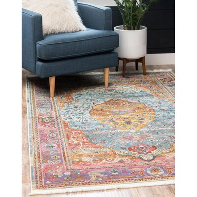 Lonerock Aqua Pink Area Rug Reviews Birch Lane